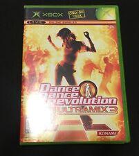 xbox Dance Dance Revolution Ultramix 3 DDR Original