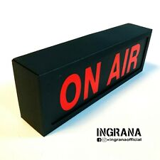 ***kit da montare*** ON AIR in cartotecnica, luce on air, Led light box Sign
