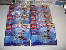 LEGO GIRL'S BIRTHDAY PARTY LOT OF 10 POP STAR RED CARPET