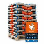 Holzpellets Sackware Heizpellets Pellet Brennholz 15kg x 65 Sack 975kg Palette