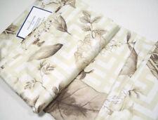 Williams Sonoma Home Greek Key Bird Floral Full Queen Duvet Cover Standard Shams