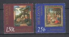 Moldova 2000 Christmas 2 MNH stamps