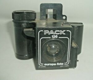 Kodak Europa-foto Pack 126 Camera. Made in Austria - Sell for Charity