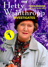 Hetty Wainthropp Investigates - Complete First Series (DVD, 2014, 3-Disc Set)