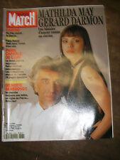 Paris Match N° 2328 6 janvier 1994 Mathilda May Gérard Darmon Anjelica Huston