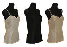 Damen Unterwäsche Unterhemd Hemdrock BH-Hemd ohne Spitze Polyamid