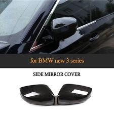 für BMW G20 G21 G30 G38 G11 G12 Schwarz ABS Außenspiegelkappe Carbon Optik LHD