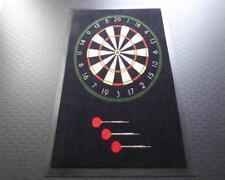 Dartteppich Darts Teppich Dartmatte Schmutzfangmatte 59 x 79 cm mit Aufdruck