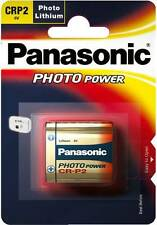 Panasonic CRP2 6V Lithium Battery (CR-P2, CRP2P, CRP2S, DL223A, EL223AP, KCRP2A)