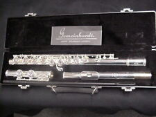 New Gemeinhardt 2SP Closed Hole Flute Outfit Silver-plated Head, Body, And Foot