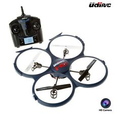 UDI RC Discovery HD Camera 2.4GHz 4-CH 6-Axis Gyro RC Quadcopter Drone, U818A-1