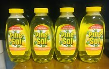 Pine-Sol Multi-Surface Cleaner 10.75 oz Lemon Fresh Concentrate. Lot of 4. A+