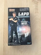 "Elite Force BBI LAPD Officer West 12"" Police Officer Figure NEW BoxWear SEE..."