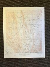 Vintage USGS El Paso Gap New Mexico Texas 1940 Topographic Map 1948