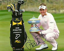 Ian Poulter Hand Signed 8x10 Photo PGA