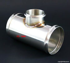 "50MM BOV Blow off V Band Turbo 304 Stainless Steel Charge Pipe Piping 2 1/2"" OD"