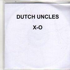 (DB107) Dutch Uncles, X-O - 2011 DJ CD