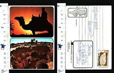 MATMATA - TUNISIA -VILLAGGIO (TROGLODITA)  - CAMMELLO CON BEDUINO - 50747