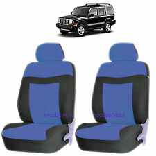 BLUE ELEGANCE AIRBAG COMPATIBLE LOWBACK SEAT COVERS SET for JEEP COMPASS PATRIOT