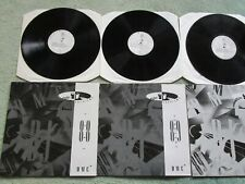 DJ Members Only DMC previews Disco Mix Club Jun '88, Jan Feb 89 Vinyl x 3 Albums