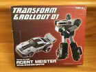 Agent Meister w/box Masterpiece Transform and Rollout 3rd Party Transforming MP