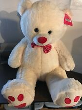 Teddy Bear Plush Giant Teddy Bears Stuffed Animals  Love Big Footprint