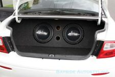 "VT VX VY VZ Holden Commodore 12inch sub custom boot install 12"" subwoofer box"