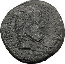 MARCUS AURELIUS 161AD Caesarea Cappadocia Zeus Ammon Ancient Roman Coin i48644