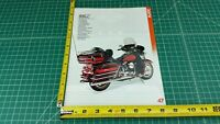 1990 Harley-Davidson FLHTC Electra Glide Ultra Classic 1-Page Ad / Color Photo