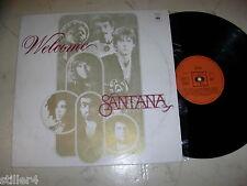 Santana Welcome Different Unique Yugo Cover And Vinyle non Foc