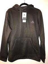 NWT New Adidas Original 3 Stripes Winter Fleece Pullover Hoodie Hoody Sweatshirt