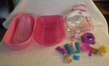 Fisher Price Assorted Lot Baby Accessories (2) Bathtubs Rubber Duck Toilet Etc.