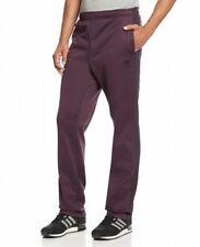 Adidas NEW Mens Plum Purple Stretch Athletic Sweat Pants M30912 Large L $60