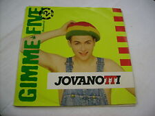"""JOVANOTTI - GIMME FIVE 2 - 12"""" VINYL 1988 EXCELLENT CONDITION"""