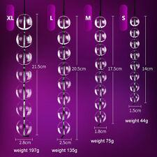 1| Sextoy Perles Anal-Vaginal en Verre perles anal/vaginal perles-4 tailles