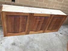 Kitchen O/H 3 Doors Cupboard 1550 L x 600 H x 310 Deep USED