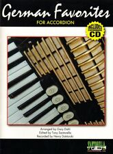 German Favorites for Accordion, Music Book & CD