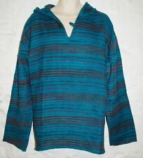 New Acrylic Fleece Hoody XXL for chest to 52 inches Hippy Fairly Traded India