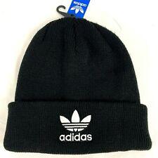 ADIDAS Originals Trefoil Black Beanie Black Hat Cap Unisex Men Women