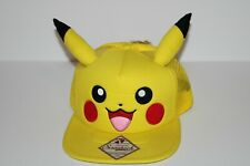 Pokemon Pikachu Snapback Trucker hat with Pikachu ears by Bioworld