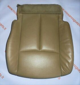 2014 - 2019 Nissan Rogue X-Trail Front Left Lower Seat Cushion Cover With Pad