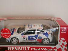 RENAULT MAXI MEGANE SANREMO RALLY 1997 ERG #21 ANSON ART.30379 1:18 NEW Rare
