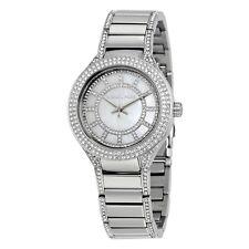 Michael Kors Mini Kerry Silver Dial Stainless Steel Ladies Watch MK3441