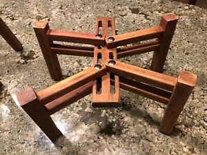Solid Wood Speaker Stands for Sansui,JBL,Pioneer,Marantz,AR3a & Others, 1 pair