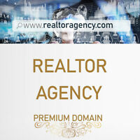 realtoragency.com Premium Domain for Real Estate Agency, Realtor Agent or Broker