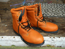Deadstock Vintage 90's Unknown Brand Insulated Work Boots Steel Toe Size 12 EE