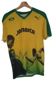 Puma Jamaica Pro Elite 2012 Olympics Competition Shirt Top Usain Bolt S