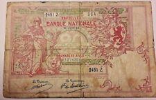 20 Francs 1914 20 Frank 1914 Billet Belgique Belgïe Belgium Banknote 21-06-14