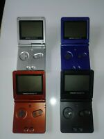 Nintendo GameBoy Advance SP System AGS-001 Refurbished *New Shell & Glass Lens*