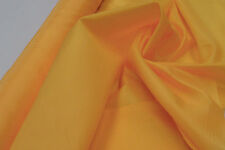 YELLOW GOLD ANTI STATIC POLYESTER DRESS LINING FABRIC  PL08 : $3.99 PER MTR
